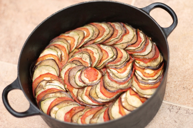 Ratatouille cooked dish