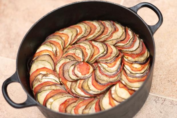 Ratatouille cooked dish