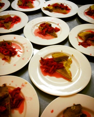 Custard tarts ready to go
