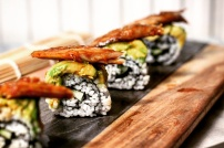 Sushi dragon roll