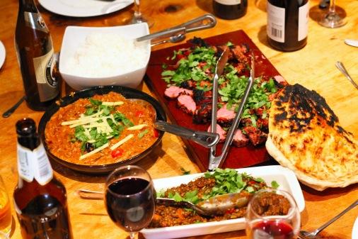 Tandoori Lamb Feast